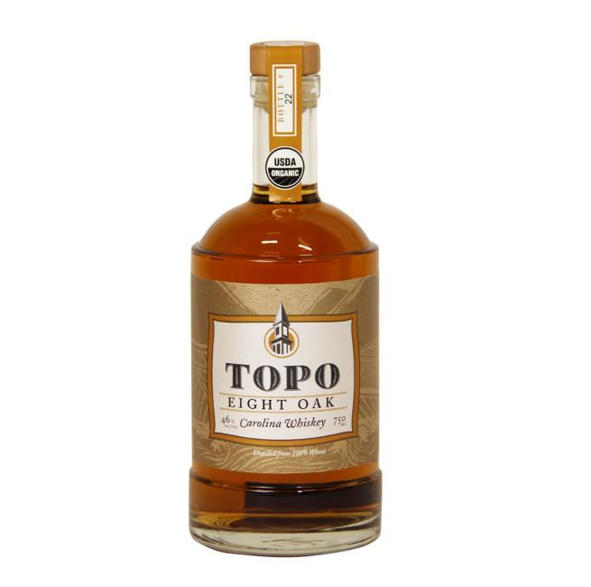 TOPO Eight Oak Organic Aged Whiskey